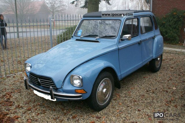 1980 Citroen 2cv Dyane 6 Car Photo And Specs