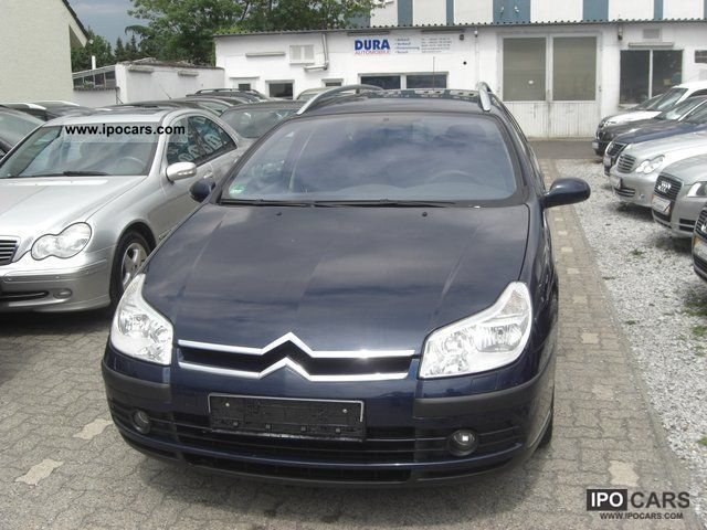 2005 citroen c5 break 1 6 hdi style car photo and specs. Black Bedroom Furniture Sets. Home Design Ideas