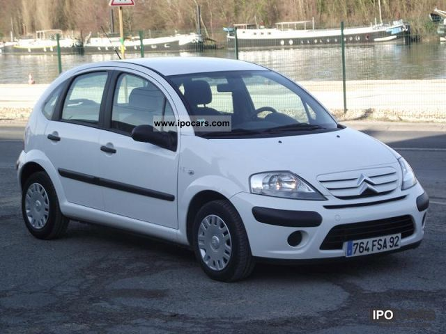 2008 citroen c3 1 4 hdi 70 club entreprise regulateur car photo and specs. Black Bedroom Furniture Sets. Home Design Ideas