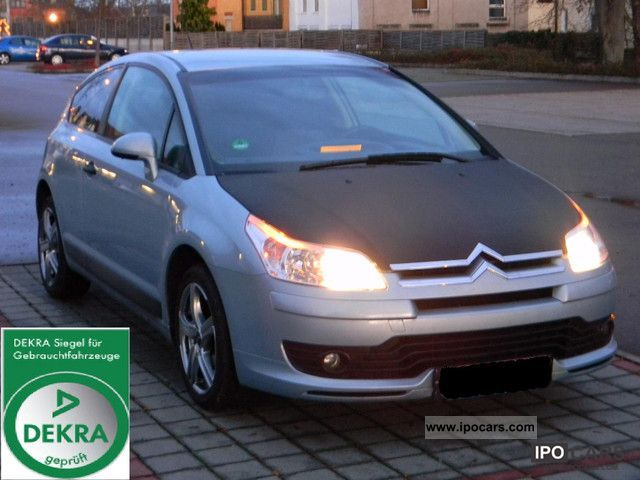 2005 citroen c4 coupe 1 6 16v vts top condition car photo and specs. Black Bedroom Furniture Sets. Home Design Ideas