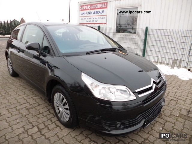 2005 citroen c4 coupe 1 6 hdi klimaauto euro4 car photo and specs. Black Bedroom Furniture Sets. Home Design Ideas