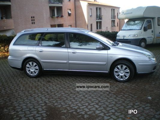 2007 citroen c5 sw 2 2 at exclusive car photo and specs. Black Bedroom Furniture Sets. Home Design Ideas