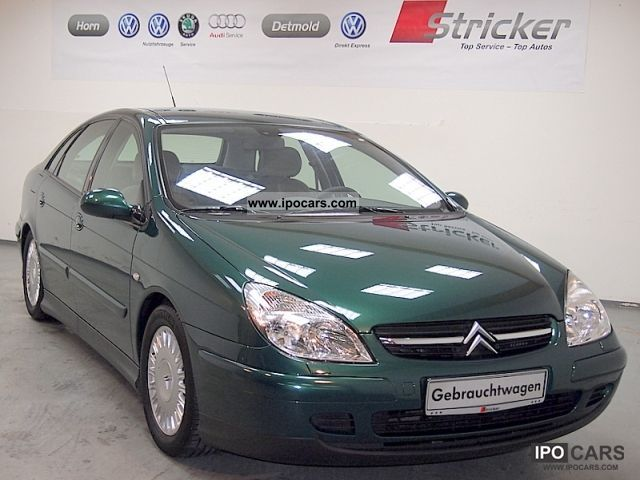 2002 citroen exclusive c5 2 2 hdi fap xenon automatic climate gr car photo and specs. Black Bedroom Furniture Sets. Home Design Ideas