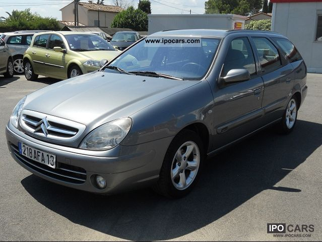 2004 citroen xsara 2 0 hdi break 90 tendance car photo and specs. Black Bedroom Furniture Sets. Home Design Ideas