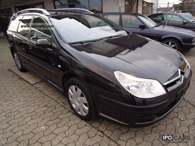 2006 citroen c5 1 6 hdi klimaautomatik pdc air suspension car photo and specs. Black Bedroom Furniture Sets. Home Design Ideas