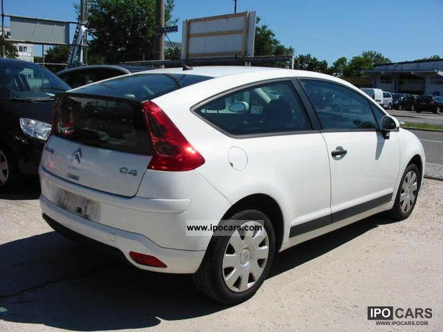 2008 citroen c4 coupe 1 6 hdi fap advance air speed euro4 car photo and specs. Black Bedroom Furniture Sets. Home Design Ideas