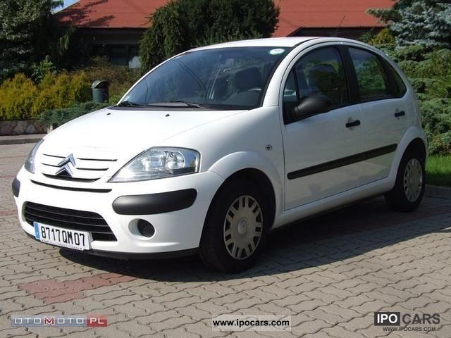 2008 citroen c3 1 4 hdi van odpis vat 2 os 1 car photo and specs. Black Bedroom Furniture Sets. Home Design Ideas