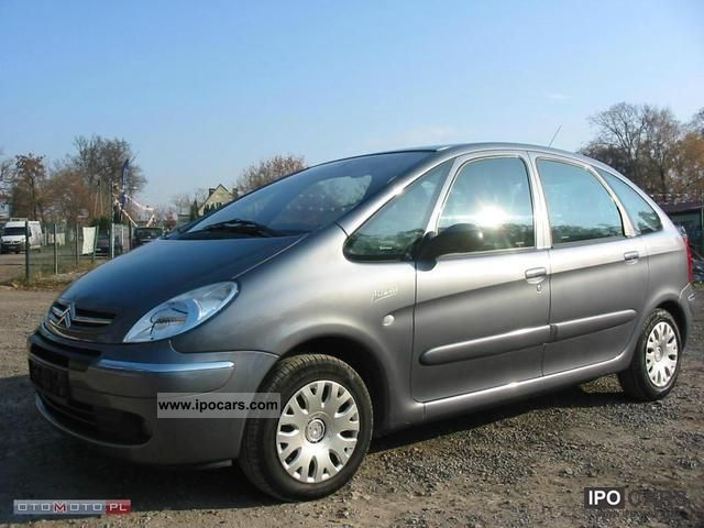 2004 citroen xsara picasso hdi climate control cd car photo and specs. Black Bedroom Furniture Sets. Home Design Ideas