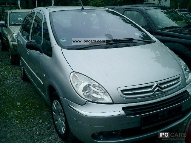 2008 citroen xsara picasso hdi klimaau euro 4 car photo and specs. Black Bedroom Furniture Sets. Home Design Ideas