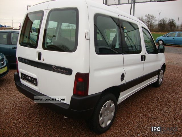 2005 citroen berlingo 1 9 d advance checkbook citroen car photo and specs. Black Bedroom Furniture Sets. Home Design Ideas
