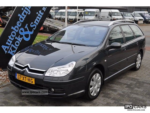 2007 citroen c5 break 2 0 16v cool tech ecc pdc car photo and specs. Black Bedroom Furniture Sets. Home Design Ideas