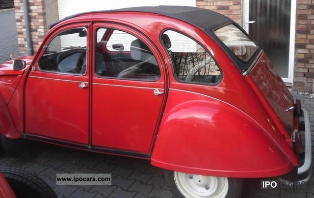 1988 citroen 2cv ente sausss car photo and specs. Black Bedroom Furniture Sets. Home Design Ideas
