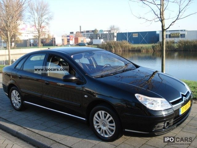 2007 citroen c5 2 0 16v hdif ligne business car photo and specs. Black Bedroom Furniture Sets. Home Design Ideas