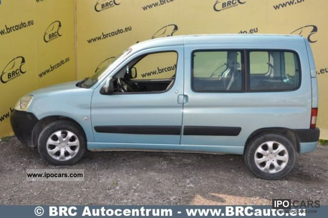 2006 citroen berlingo car photo and specs. Black Bedroom Furniture Sets. Home Design Ideas