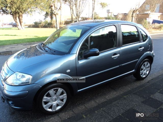 2006 citroen c3 1 4 exclusive climate control car photo and specs. Black Bedroom Furniture Sets. Home Design Ideas