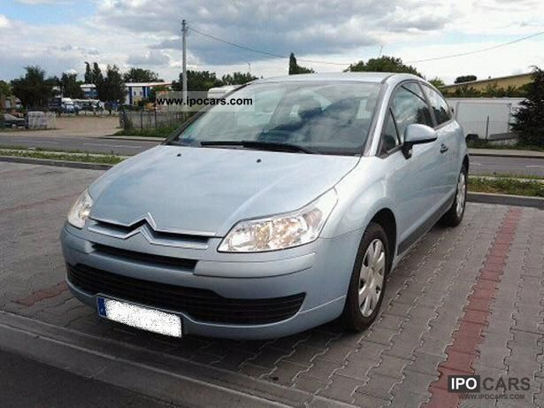 2008 citroen c4 coupe car photo and specs. Black Bedroom Furniture Sets. Home Design Ideas