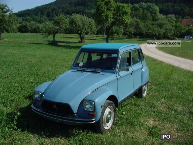 Citroen  2CV Dyane 1979 Vintage, Classic and Old Cars photo