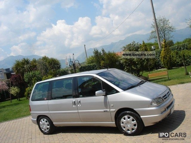 2002 citroen evasion 2 0 hdi 7 posti come nuo car photo and specs. Black Bedroom Furniture Sets. Home Design Ideas