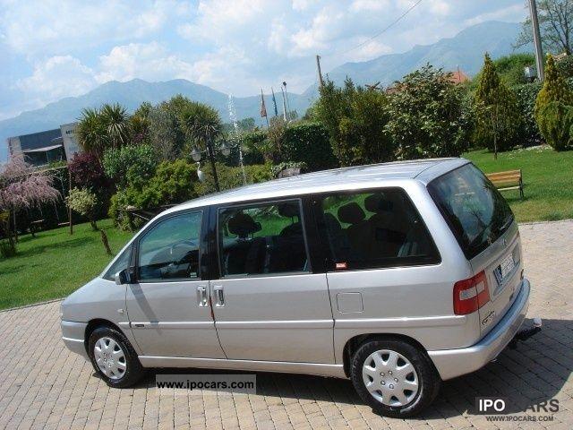 2002 Citroen Evasion 2.0 HDI ** 7 ** POSTI (COME NUO Van / Minibus ...