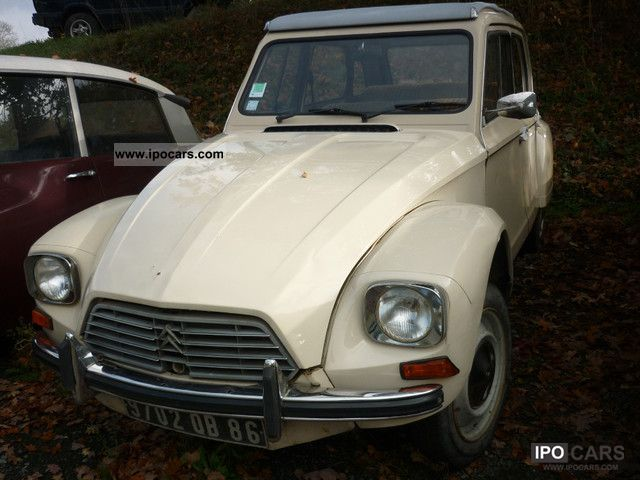Citroen  Dyane 6 1979 Vintage, Classic and Old Cars photo