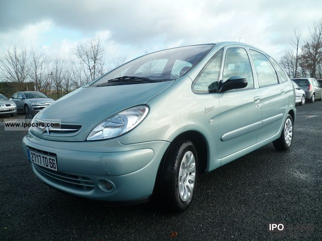2003 citroen picasso 1 8 16v exclusive car photo and specs for Garage opel nice la plaine