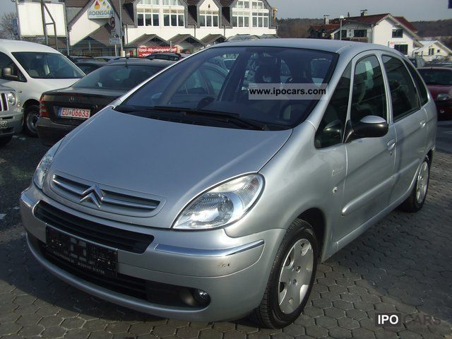 2007 citroen xsara picasso 1 6 hdi climate control scheckh aluminum p car photo and specs. Black Bedroom Furniture Sets. Home Design Ideas