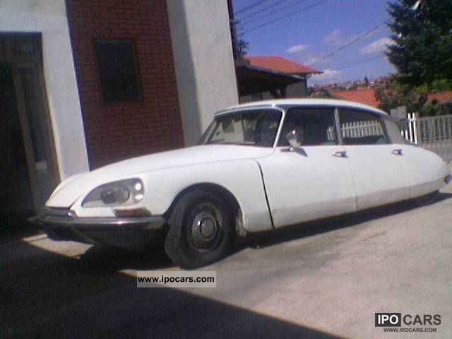 Citroen  DS 20 & DS 19 (Goddess - Goddess - Shark) 1969 Vintage, Classic and Old Cars photo
