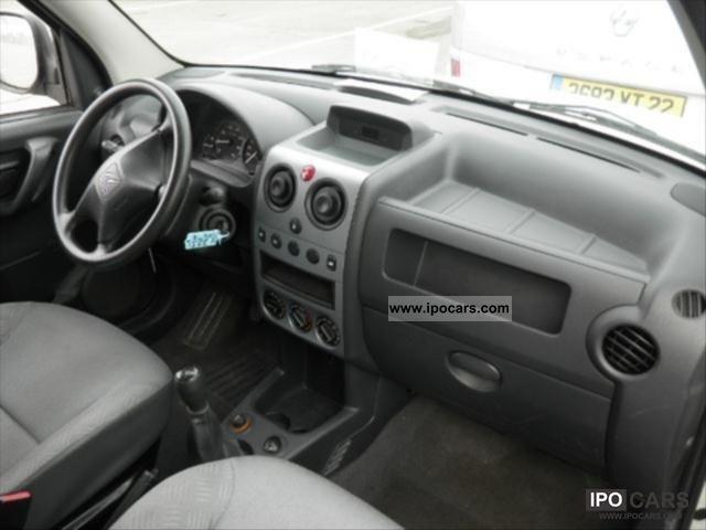 2007 Citroen Berlingo 1 9d 600kg Cft Car Photo And Specs