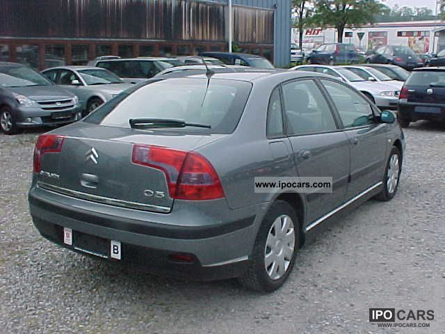 2005 citroen c5 hdi 1 6 110 tendance climate 4 car photo and specs. Black Bedroom Furniture Sets. Home Design Ideas