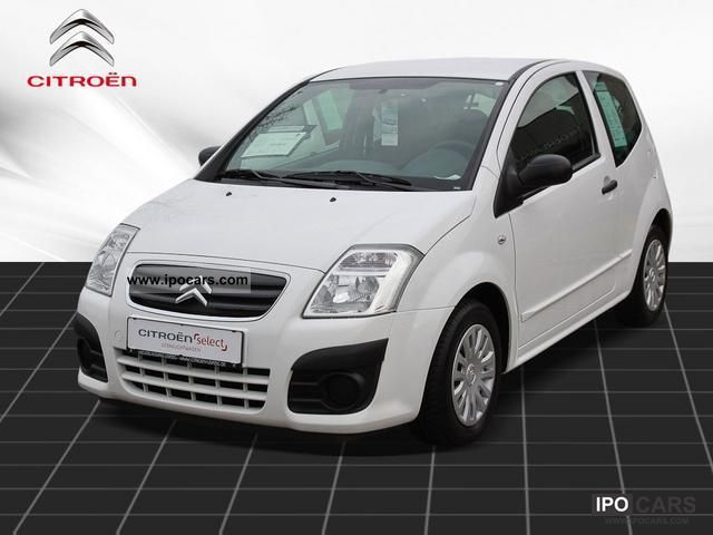 2009 citroen c2 1 4 hdi style climate car photo and specs. Black Bedroom Furniture Sets. Home Design Ideas