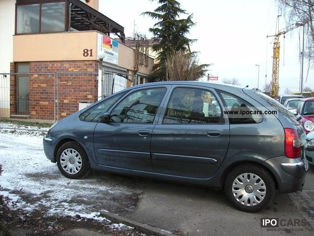 2008 citroen xsara picasso 1 6 style car photo and specs. Black Bedroom Furniture Sets. Home Design Ideas