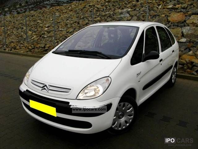 2009 citroen xsara picasso 1 6 hdi car photo and specs. Black Bedroom Furniture Sets. Home Design Ideas