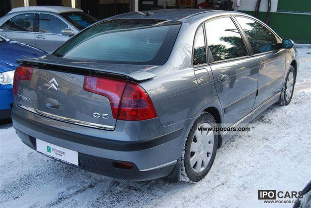 2005 citroen c5 136km klimatyzacja car photo and specs. Black Bedroom Furniture Sets. Home Design Ideas