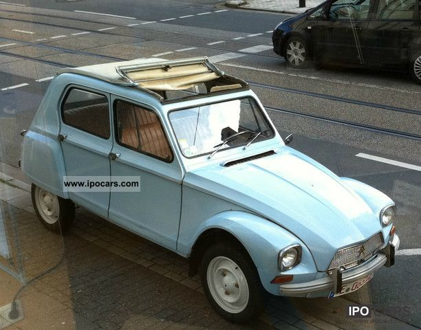 Citroen  Dyane 1969 Vintage, Classic and Old Cars photo