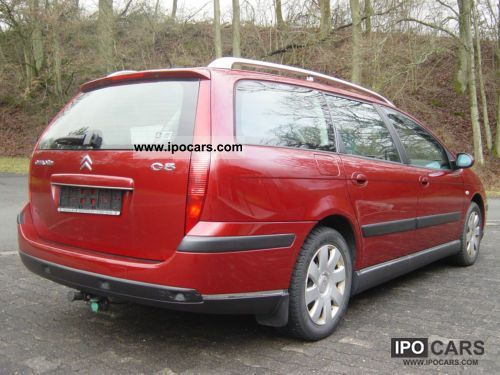 2005 citroen c5 hdi 110 style car photo and specs. Black Bedroom Furniture Sets. Home Design Ideas