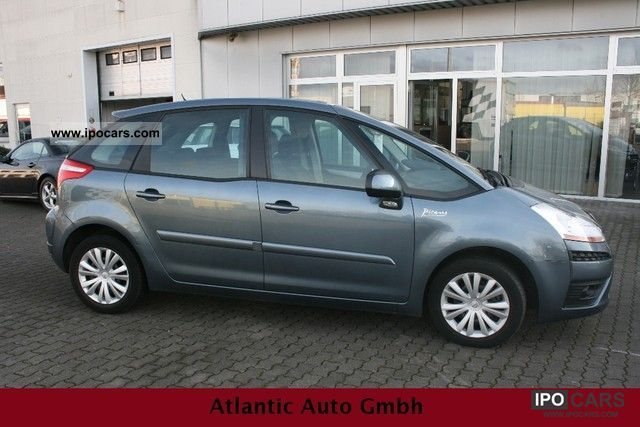 2007 citroen c4 picasso checkbook car photo and specs. Black Bedroom Furniture Sets. Home Design Ideas