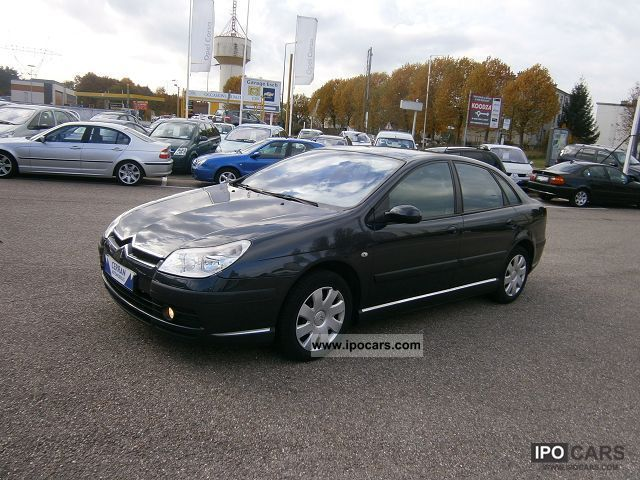 2005 citroen c5 2 0 hdi129 pack leader car photo and specs. Black Bedroom Furniture Sets. Home Design Ideas