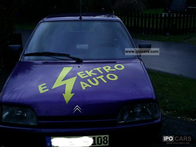 Citroen  AX electric car 1994 Electric Cars photo