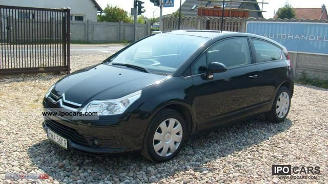 2007 citroen c4 c4 air zarejestrowany car photo and specs. Black Bedroom Furniture Sets. Home Design Ideas
