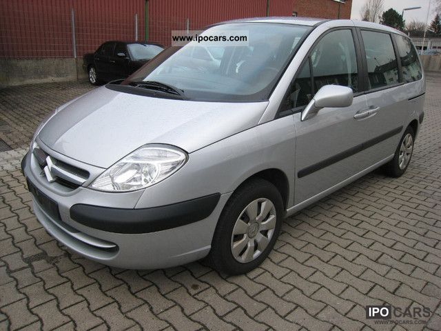 2007 citroen c8 2 0 hdi 5 seater 2007 150tkm car photo and specs. Black Bedroom Furniture Sets. Home Design Ideas
