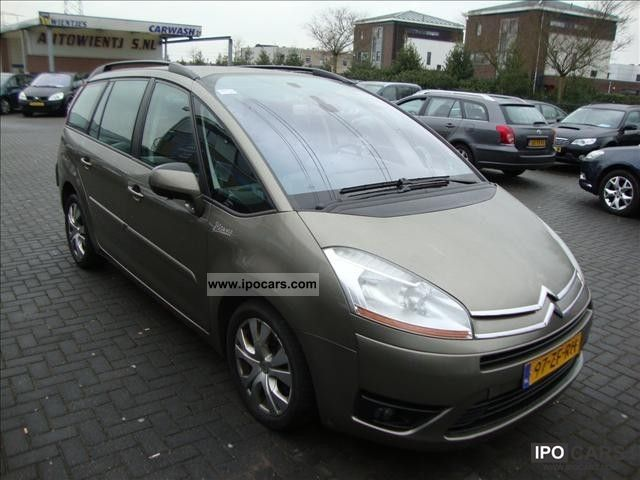 2008 citroen grand c4 picasso 1 6 hdi auto 80kw business car photo and specs. Black Bedroom Furniture Sets. Home Design Ideas