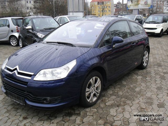 2005 citroen c4 coupe vts 16v diesel 136 hp top tools car photo and specs. Black Bedroom Furniture Sets. Home Design Ideas