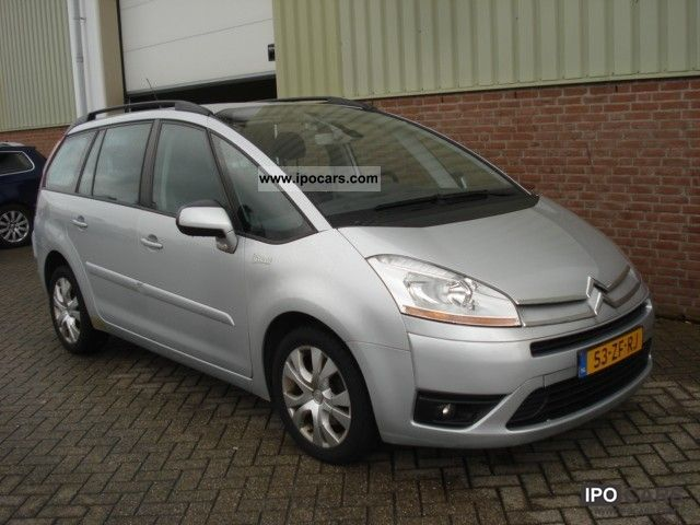 Citroen  Grand C4 Picasso 2.0 16v Eb6v Business Ligne 7-p 2008 Liquefied Petroleum Gas Cars (LPG, GPL, propane) photo