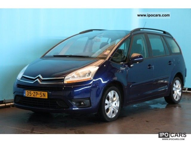 2008 citroen grand c4 picasso 1 6hdif business eb6v car photo and specs. Black Bedroom Furniture Sets. Home Design Ideas