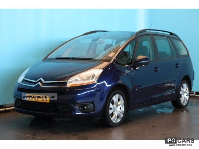 2008 citroen grand c4 picasso 1 6hdif business eb6v car. Black Bedroom Furniture Sets. Home Design Ideas