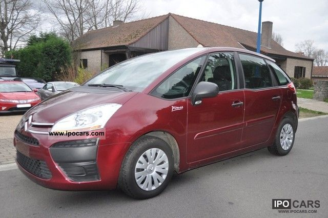 2008 citroen c4 picasso 1 6 hdi sx pack air cruise control car photo and specs. Black Bedroom Furniture Sets. Home Design Ideas