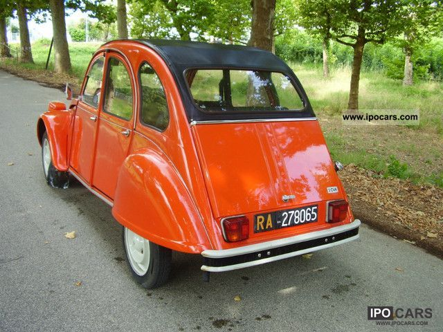 Citroen  2 CV 4 1978 Vintage, Classic and Old Cars photo