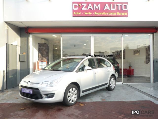 2009 Citroen  C4 1.6 HDI COMFORT 92 Limousine Used vehicle photo