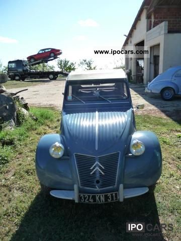 Citroen  2 CV 1961 Vintage, Classic and Old Cars photo