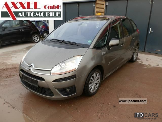 2007 citroen c4 picasso 1 6 hdi car photo and specs. Black Bedroom Furniture Sets. Home Design Ideas